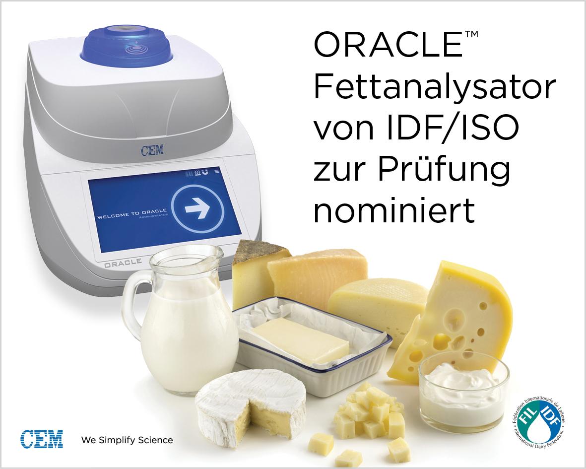 German-ORACLE Dairy Ad